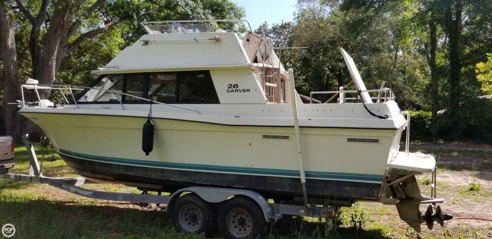 1983 Carver boat for sale, model of the boat is 26 Santa Cruz & Image # 2 of 40