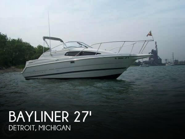 Used Boats For Sale by owner | 1996 Bayliner 27