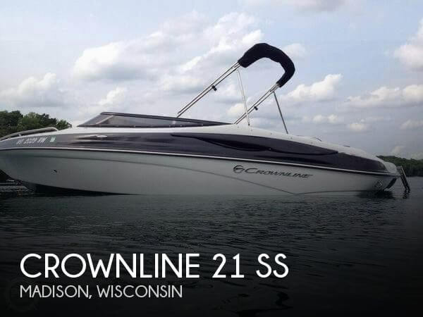 Used Boats For Sale in Madison, Wisconsin by owner | 2012 Crownline 21