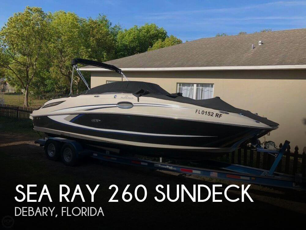 Used Deck Boats For Sale by owner | 2010 Sea Ray 260 Sundeck