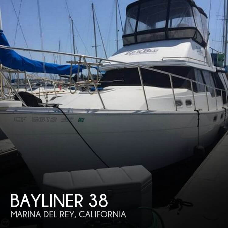 Used Bayliner Boats For Sale in California by owner | 1991 Bayliner 38