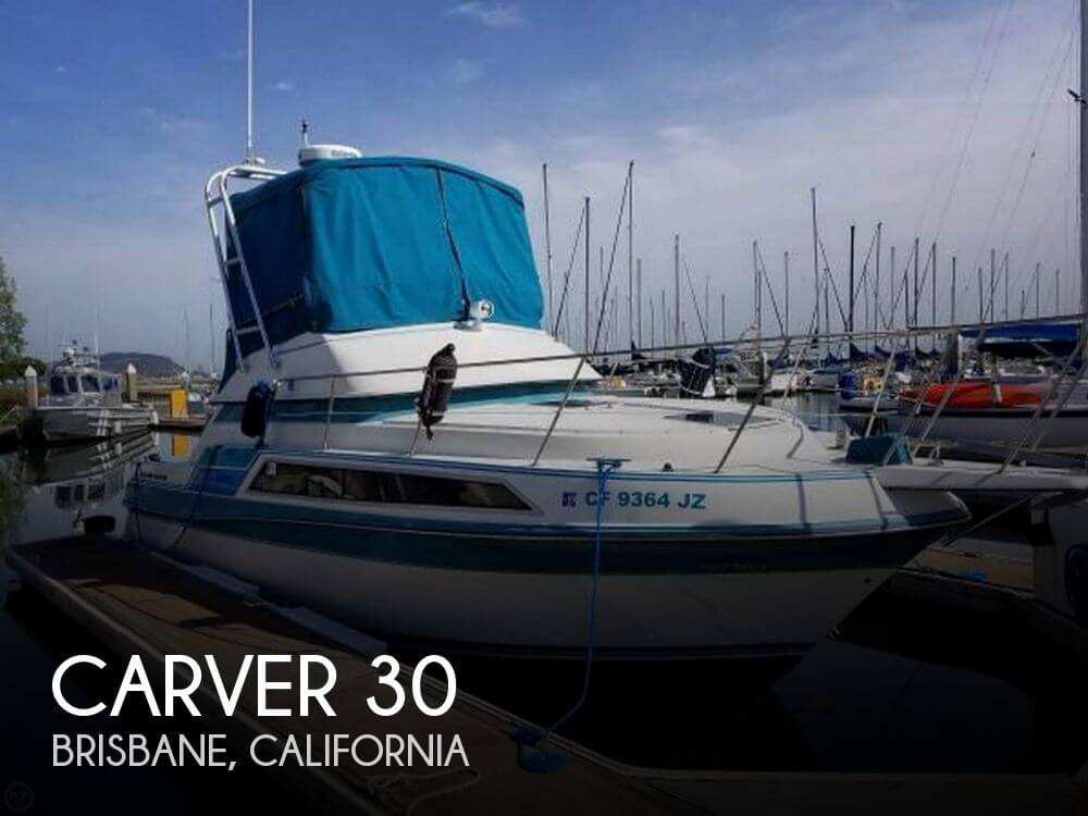 Used Fishing boats For Sale in Santa Rosa, California by owner | 1990 Carver 30