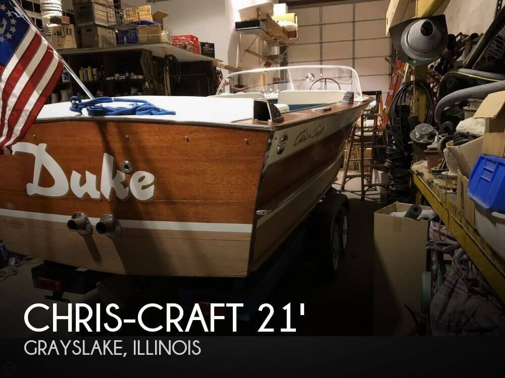 Used Chris Craft Ski Boats For Sale by owner | 1965 Chris-Craft 21