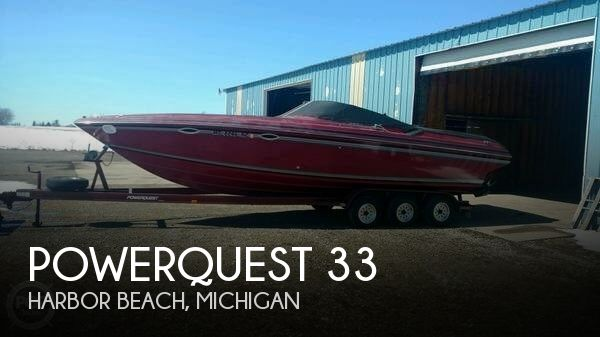 Used Powerquest Boats For Sale by owner | 1991 Powerquest 33