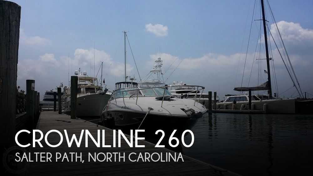 2012 CROWNLINE 260 for sale