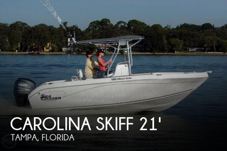Used Carolina Skiff 21 Boats For Sale by owner | 2012 Carolina Skiff 21 Sea Chaser