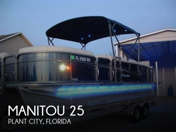 Used Pontoon Boats For Sale by owner | 2017 Manitou 25