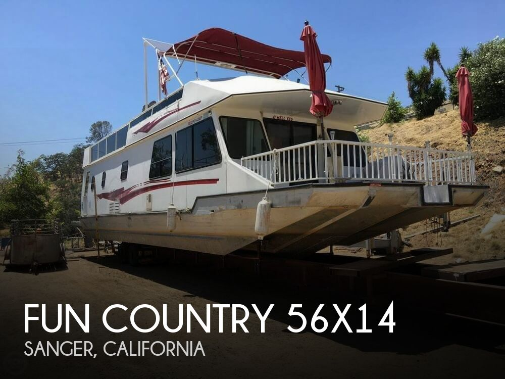 Used Boats For Sale in Fresno, California by owner | 1998 Fun Country 70