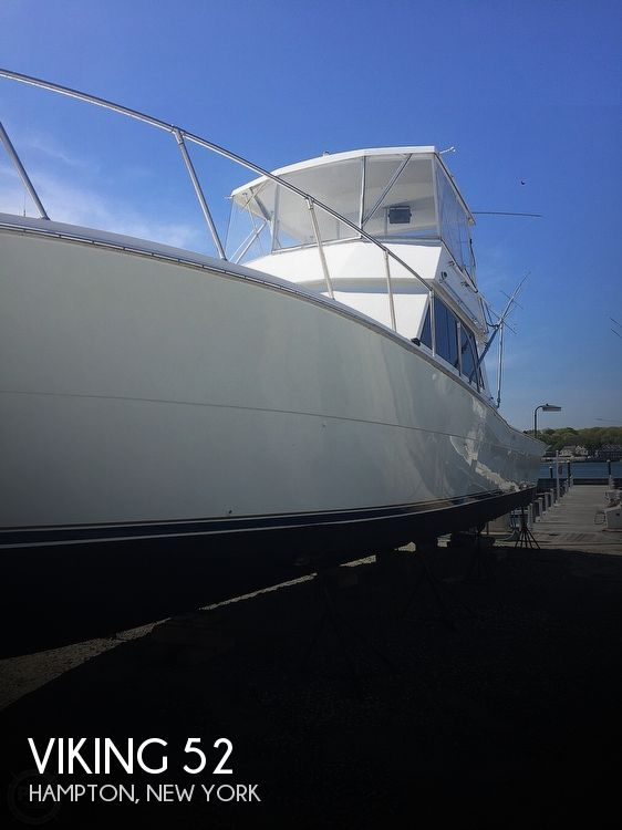 Used Viking Boats For Sale by owner | 1987 Viking 52