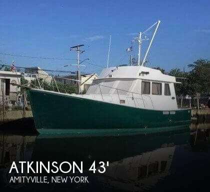 2003 Atkinson boat for sale, model of the boat is 43 Cape Islander & Image # 1 of 41