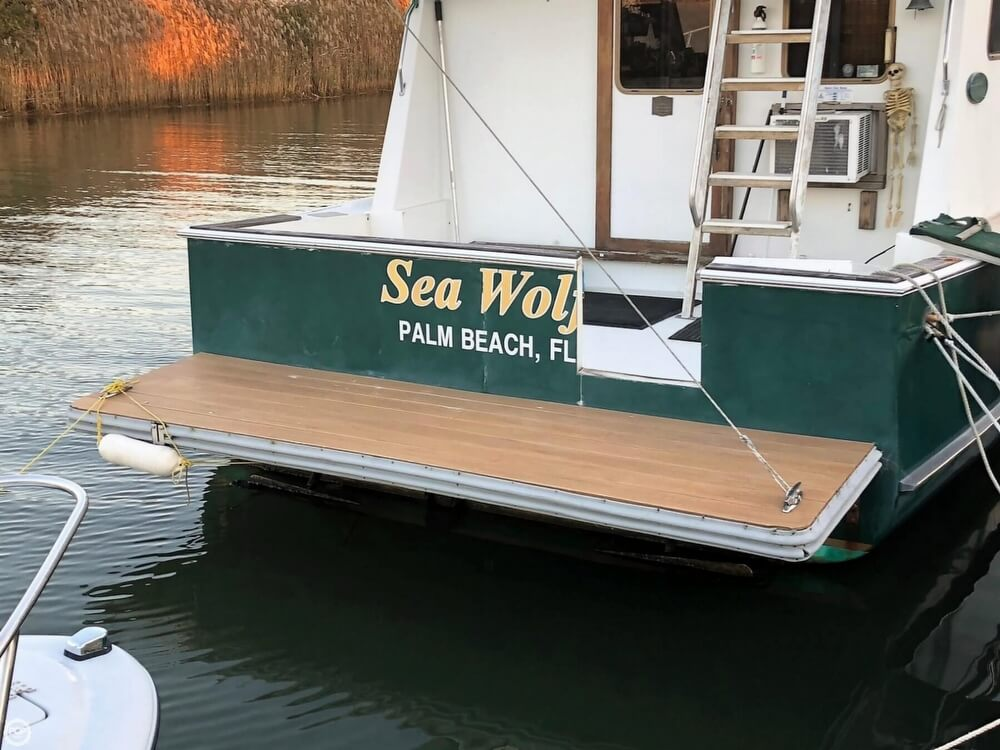 2003 Atkinson boat for sale, model of the boat is 43 Cape Islander & Image # 24 of 41