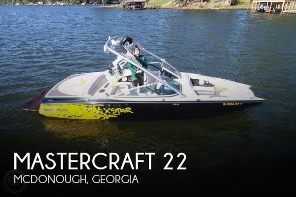 Used Ski Boats For Sale in Georgia by owner | 2006 Mastercraft 22