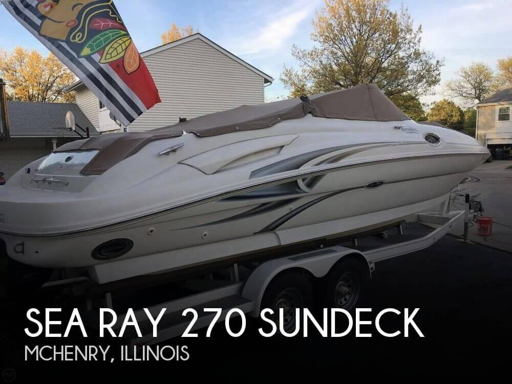 Used Sea Ray Boats For Sale in Illinois by owner | 2002 Sea Ray 27