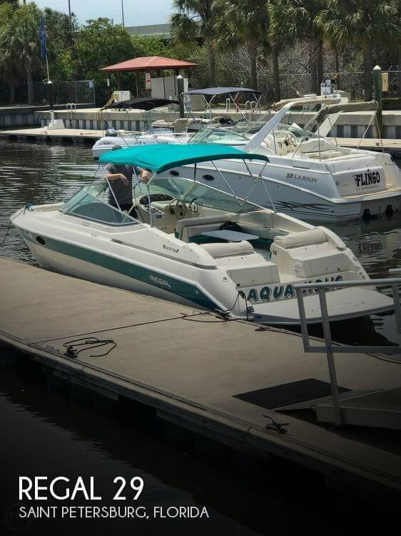 Used Regal 29 Boats For Sale by owner | 1995 Regal 29