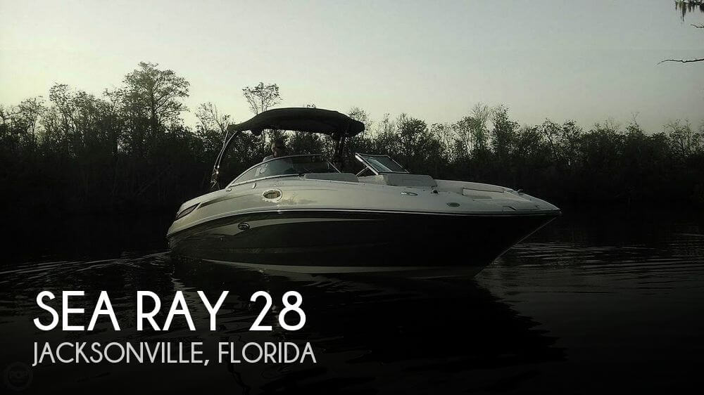 Used Sea Ray Deck Boats For Sale by owner | 2012 Sea Ray 28