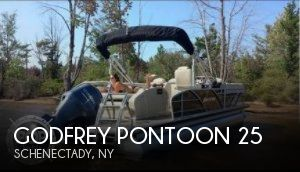 Used Boats For Sale in Albany, New York by owner | 2015 Godfrey Pontoon 25