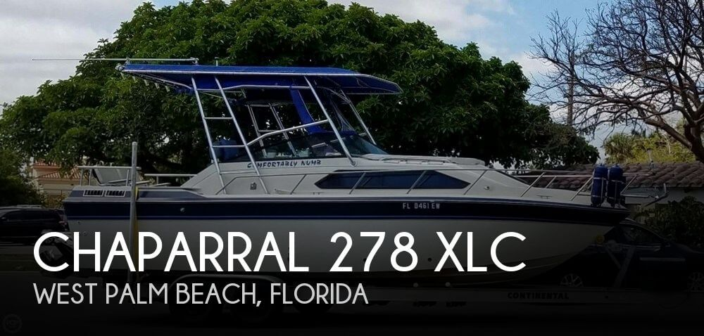 Used Chaparral 26 Boats For Sale by owner | 1984 Chaparral 26