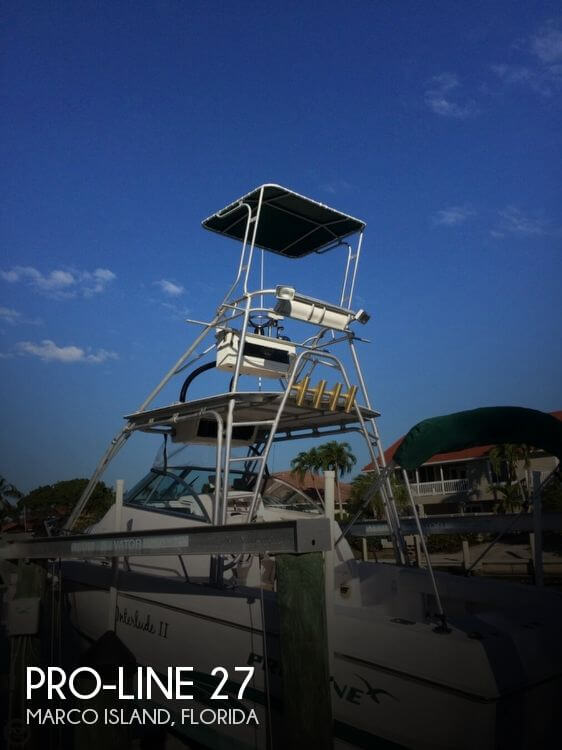 Used Pro-Line Boats For Sale in Florida by owner | 2000 Pro-Line 27
