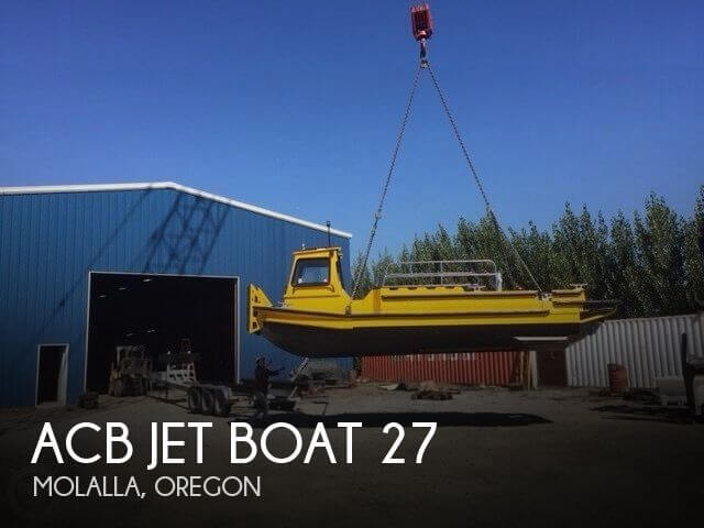 Used Boats For Sale in Portland, Oregon by owner | 2006 ACB Jet Boat 27