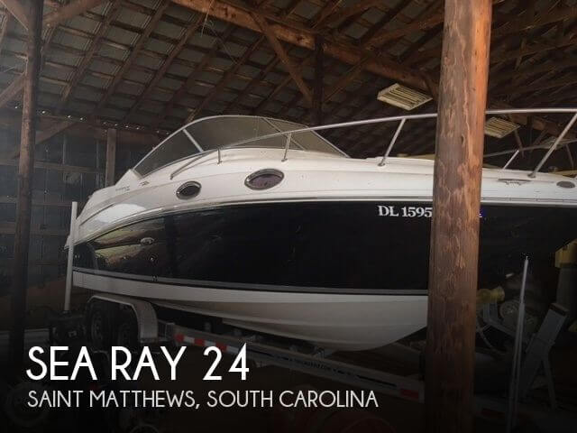 Used Boats For Sale in Columbia, South Carolina by owner | 2010 Sea Ray 24