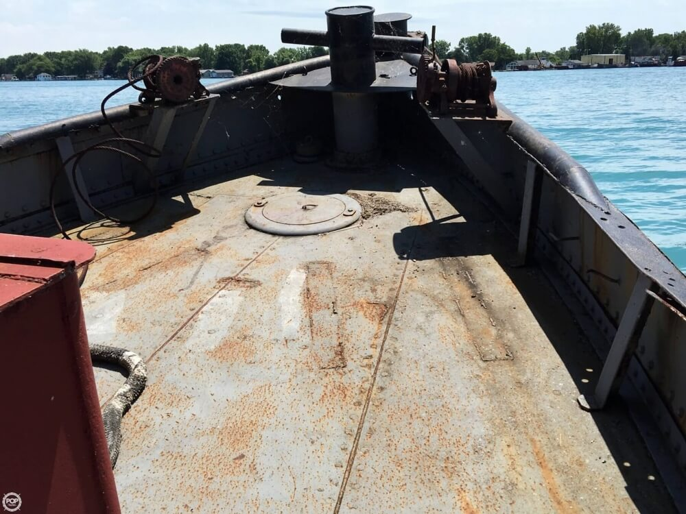 1913 Steel boat for sale, model of the boat is Riveted Steel Tug & Image # 5 of 40