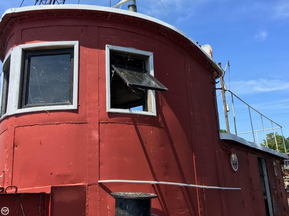 1913 Steel boat for sale, model of the boat is Riveted Steel Tug & Image # 7 of 40