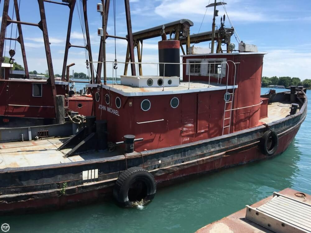 1913 Steel boat for sale, model of the boat is Riveted Steel Tug & Image # 14 of 40