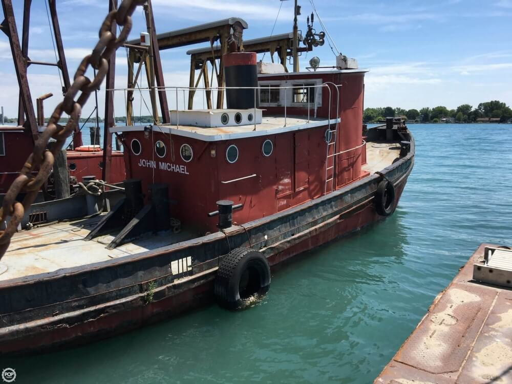 1913 Steel boat for sale, model of the boat is Riveted Steel Tug & Image # 15 of 40