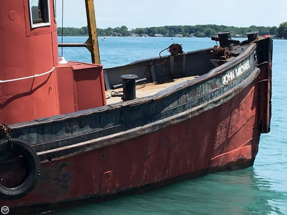 1913 Steel boat for sale, model of the boat is Riveted Steel Tug & Image # 17 of 40