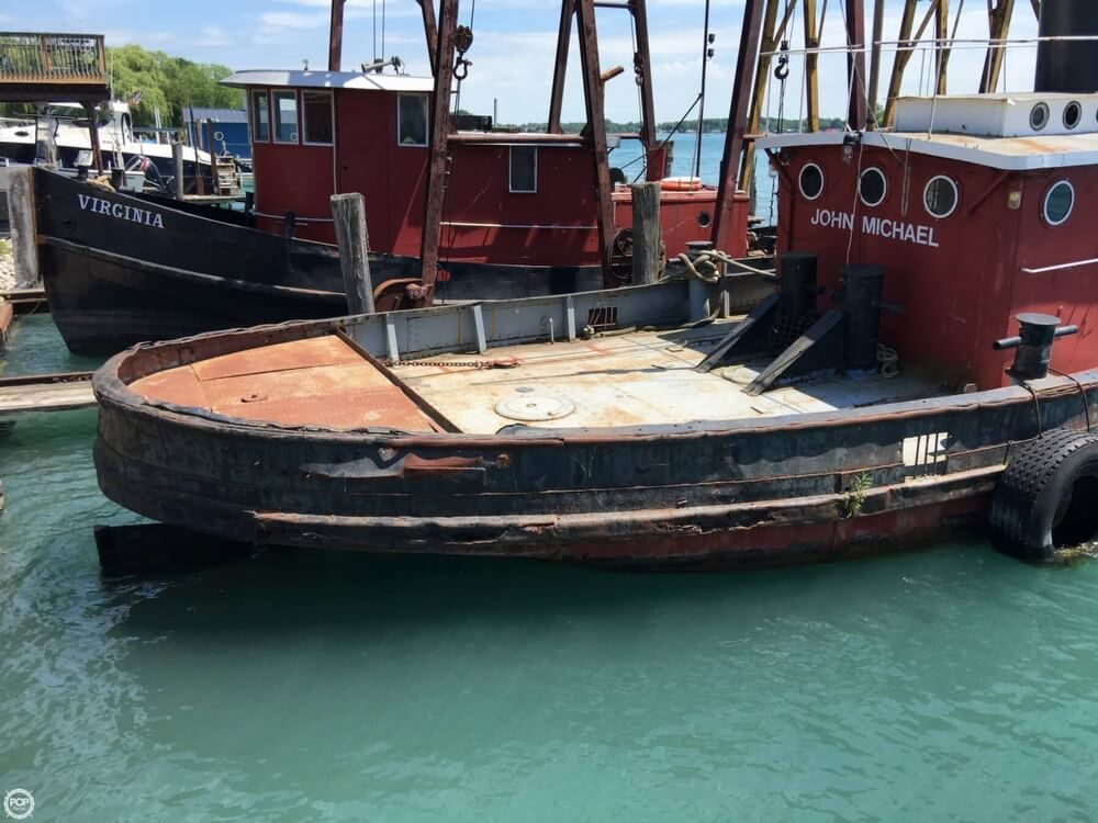 1913 Steel boat for sale, model of the boat is Riveted Steel Tug & Image # 21 of 40