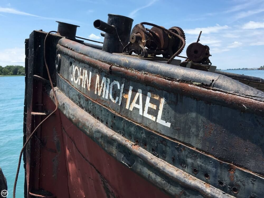 1913 Steel boat for sale, model of the boat is Riveted Steel Tug & Image # 24 of 40