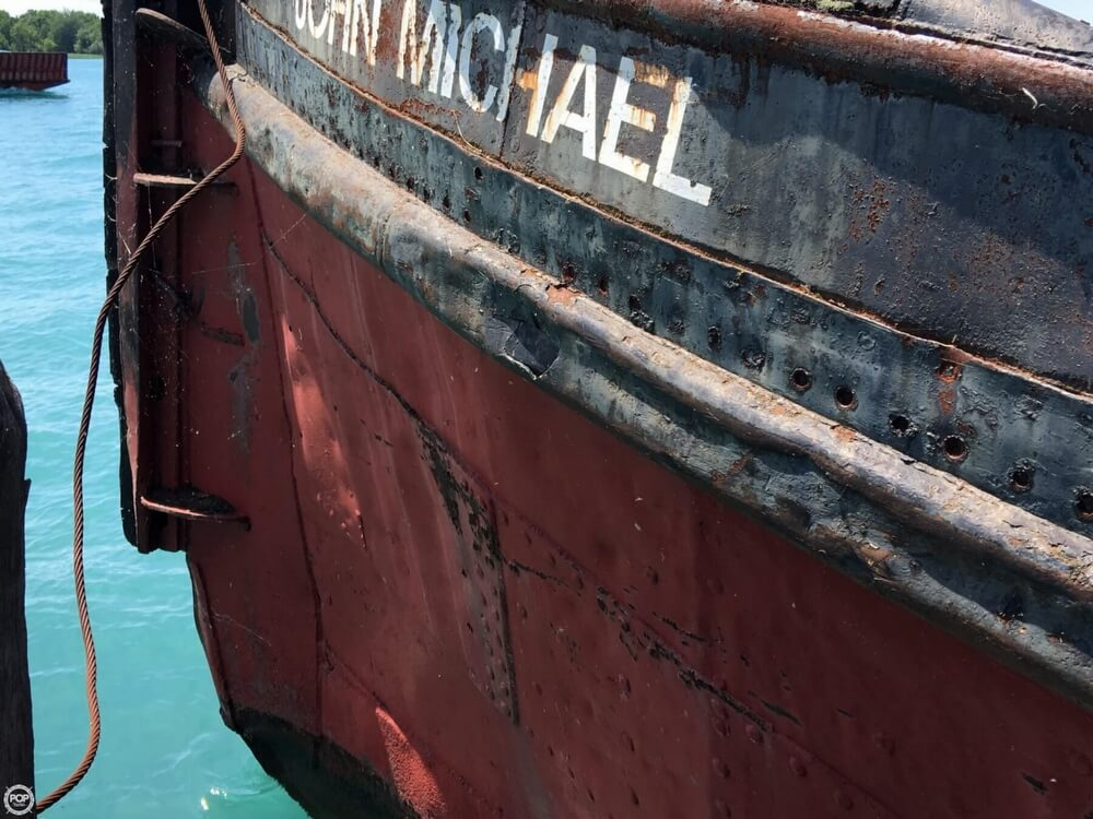 1913 Steel boat for sale, model of the boat is Riveted Steel Tug & Image # 25 of 40