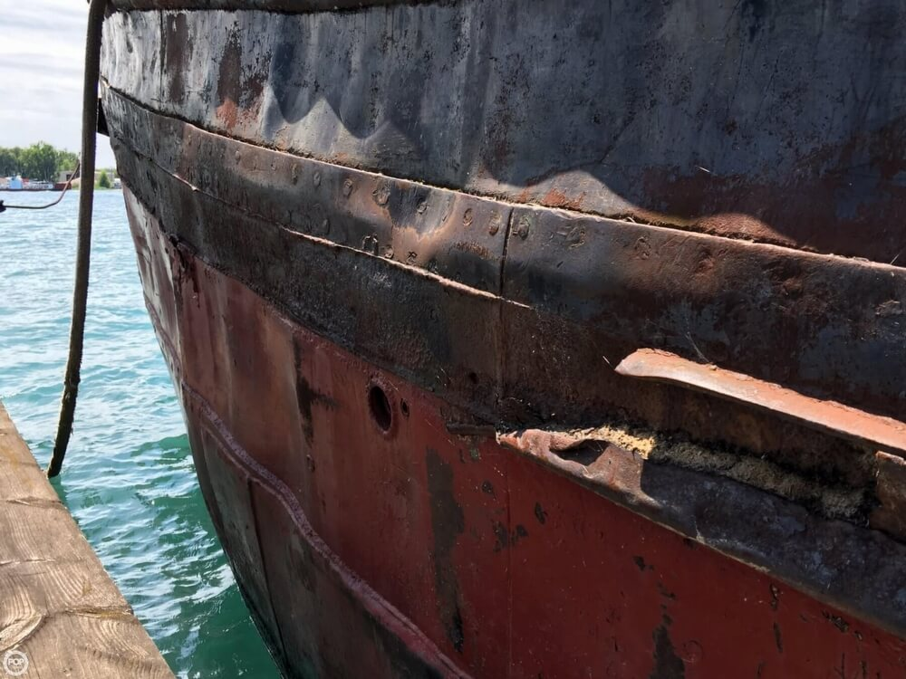 1913 Steel boat for sale, model of the boat is Riveted Steel Tug & Image # 27 of 40