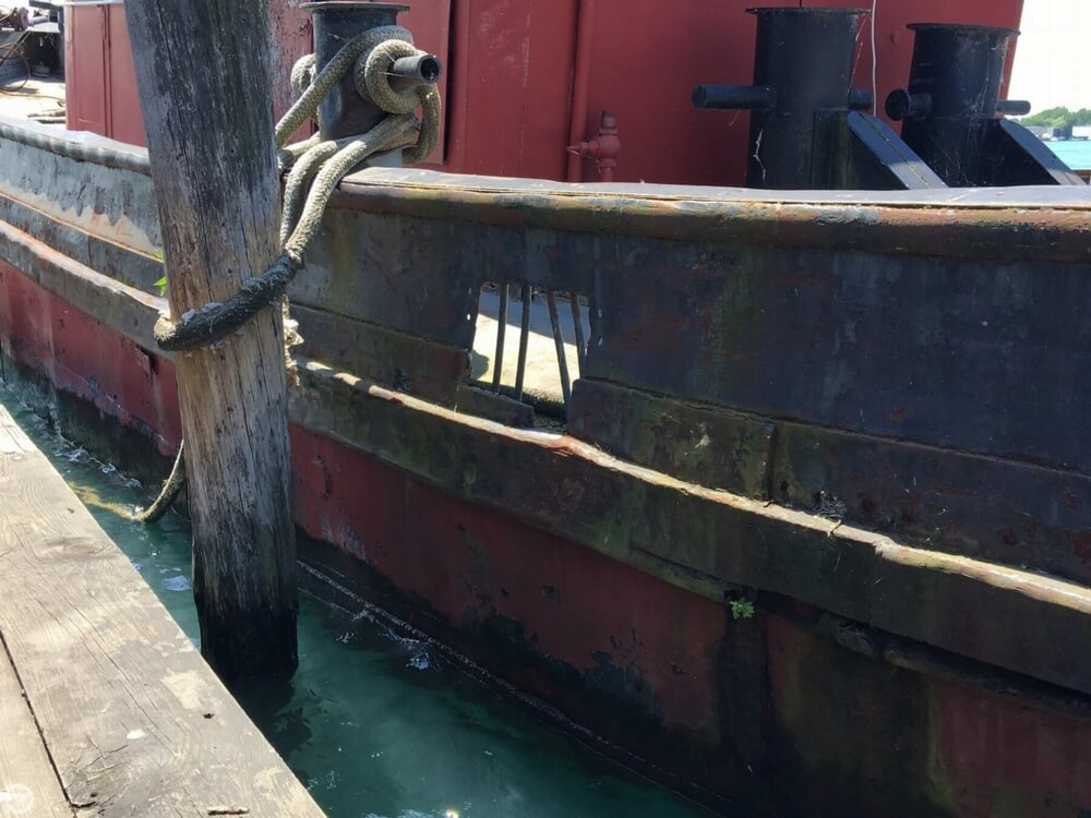 1913 Steel boat for sale, model of the boat is Riveted Steel Tug & Image # 30 of 40