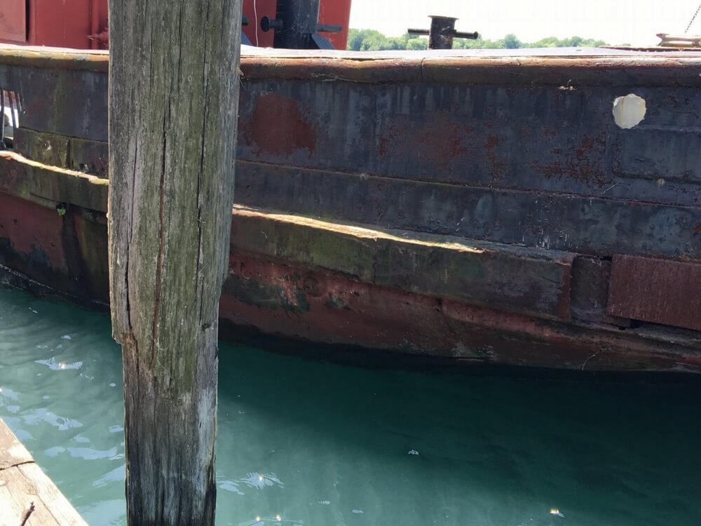 1913 Steel boat for sale, model of the boat is Riveted Steel Tug & Image # 31 of 40
