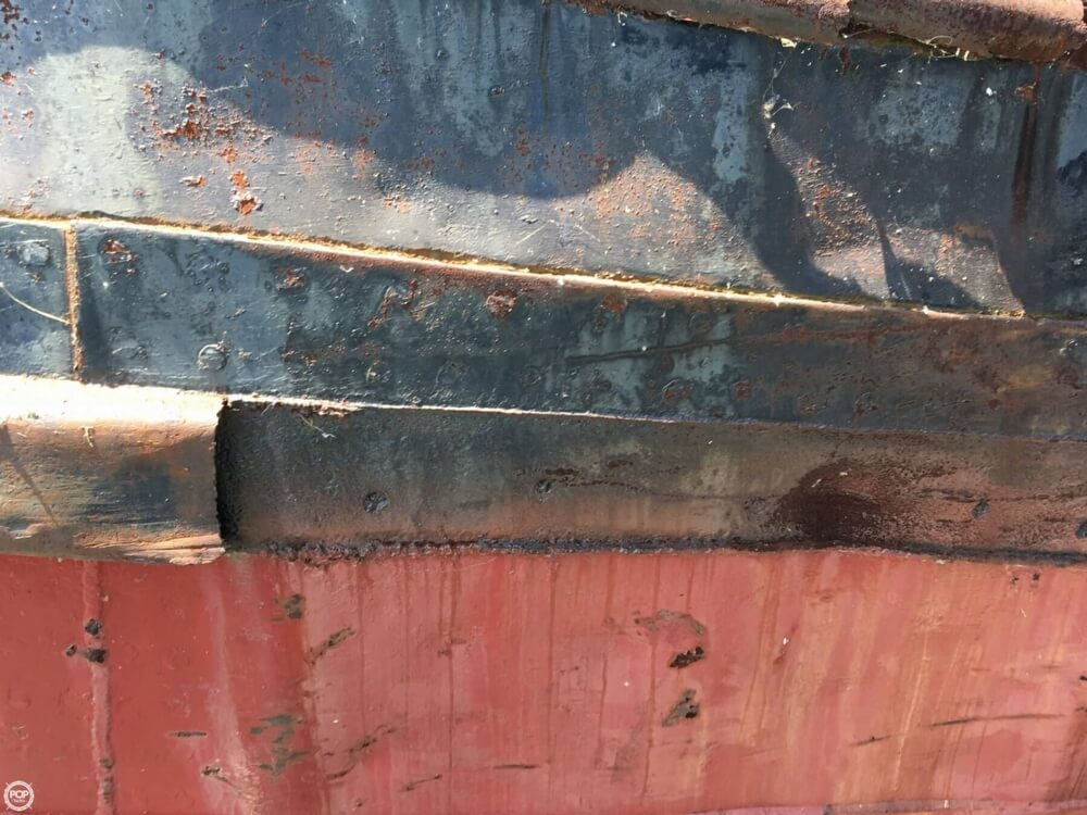 1913 Steel boat for sale, model of the boat is Riveted Steel Tug & Image # 34 of 40