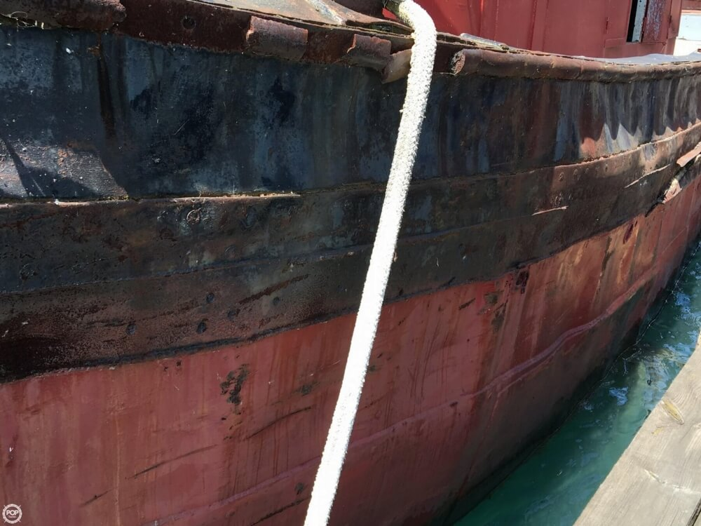 1913 Steel boat for sale, model of the boat is Riveted Steel Tug & Image # 35 of 40