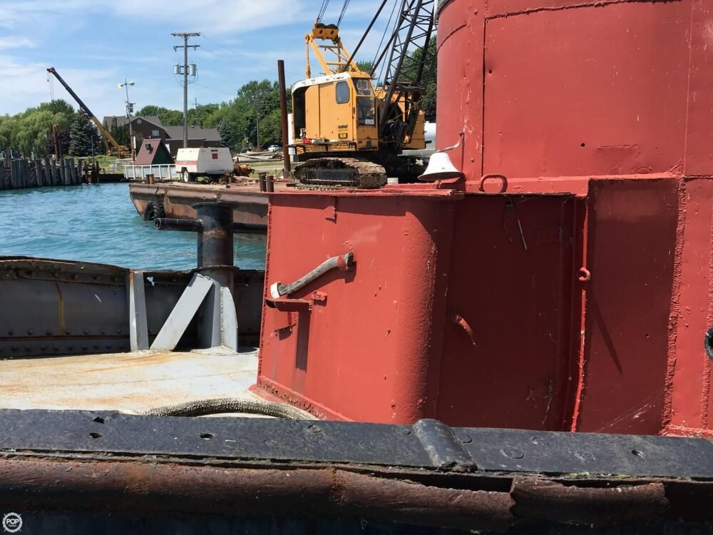 1913 Steel boat for sale, model of the boat is Riveted Steel Tug & Image # 39 of 40