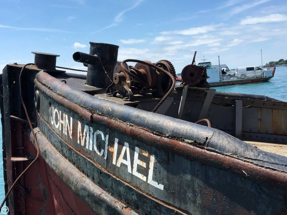 1913 Steel boat for sale, model of the boat is Riveted Steel Tug & Image # 40 of 40