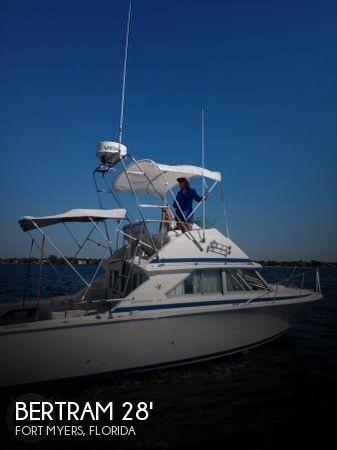 Used BERTRAM Fishing boats For Sale in Florida by owner | 1982 Bertram 28