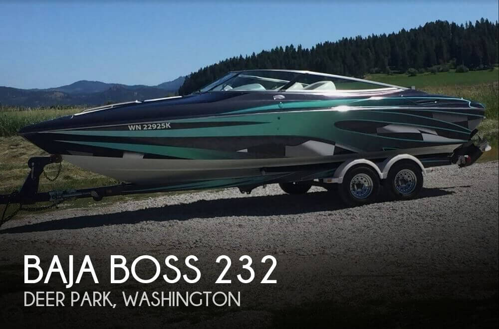 Used High Performance Boats For Sale in Washington by owner | 2001 Baja 23