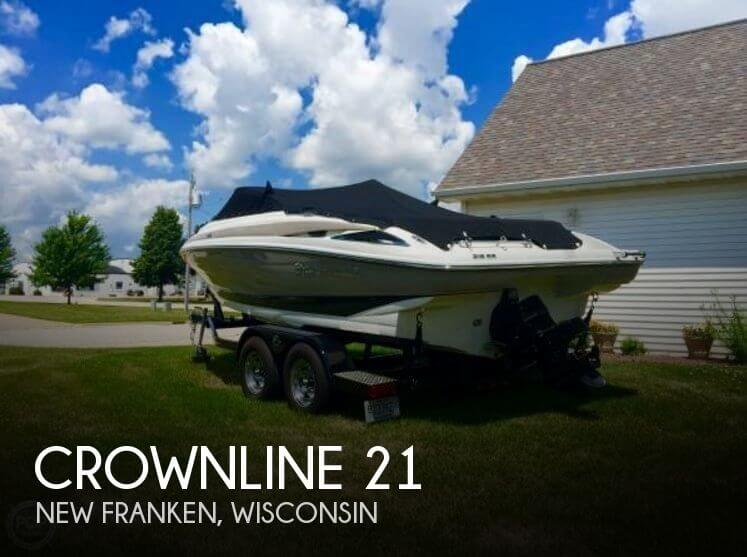Used Boats For Sale in Appleton, Wisconsin by owner | 2014 Crownline 21