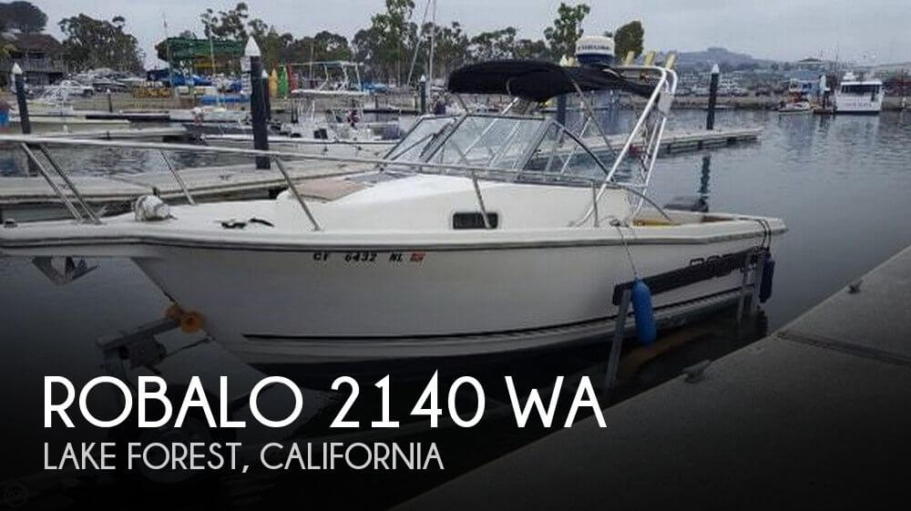 Used Boats For Sale by owner | 1996 Robalo 21