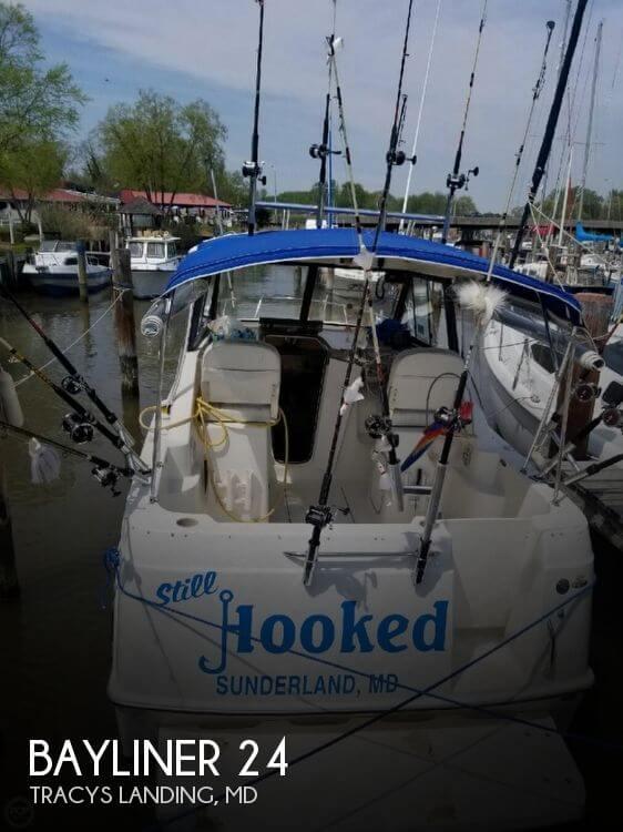 Used Bayliner Boats For Sale in Maryland by owner | 2005 Bayliner 24
