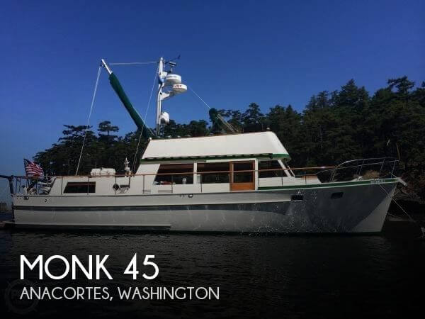 Used Monk Boats For Sale by owner | 1964 Monk 45