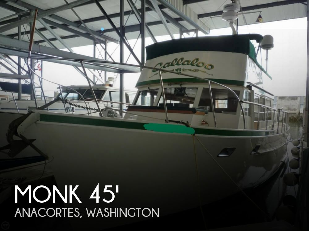 1964 MONK 45 MCQUEEN TRAWLER for sale