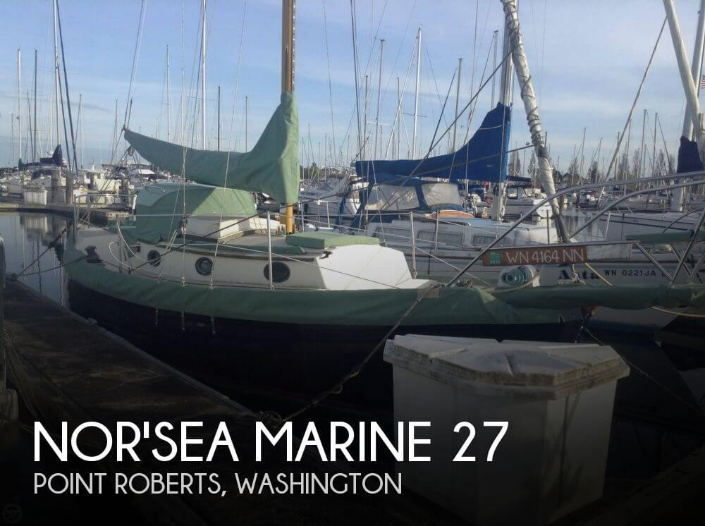 Used Sailboats For Sale in Washington by owner | 1991 Nor'sea Marine 27