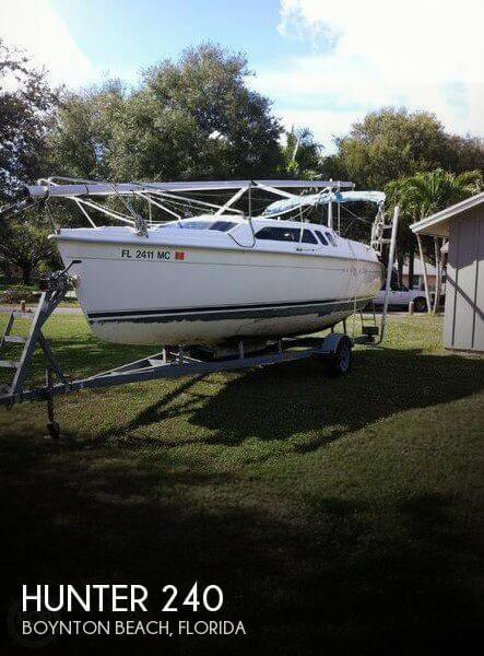 Used Hunter Sailboats For Sale by owner | 2002 Hunter 24