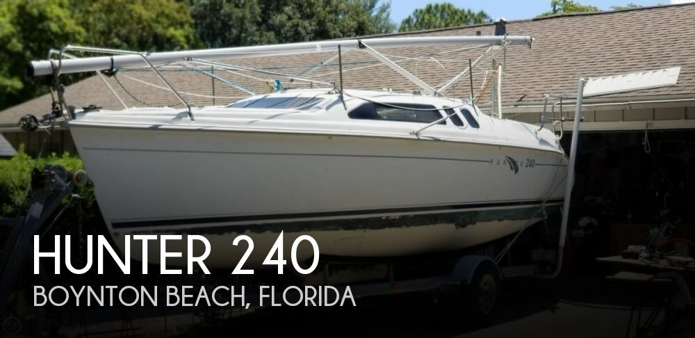 2002 Hunter boat for sale, model of the boat is 240 & Image # 1 of 40