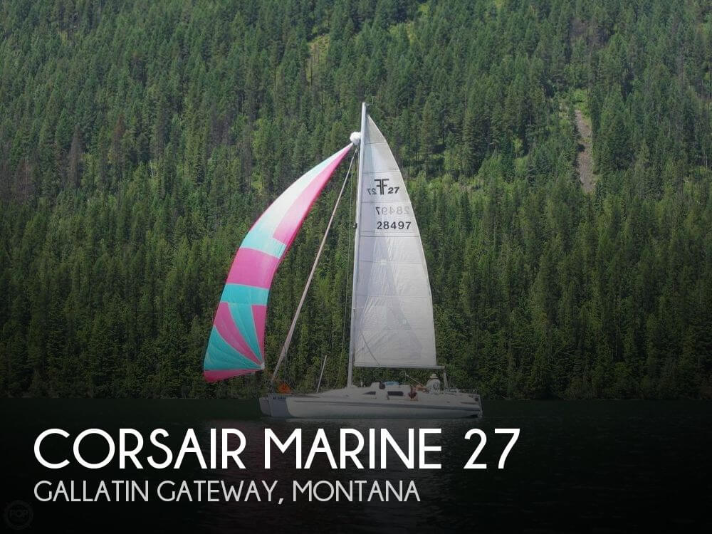 Used Boats For Sale in Montana by owner | 1993 Corsair Marine 27